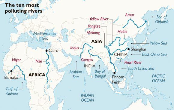 Próximos passos 2020-2030: instalação nos 10 rios mais poluídos do mundo